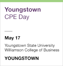 Youngstown CPE Day, May 17