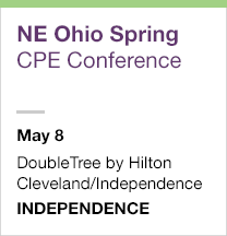 Northeast Ohio Spring CPE Conference, May 8
