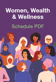 Women, Wealth & Wellness Conference CPE Schedule